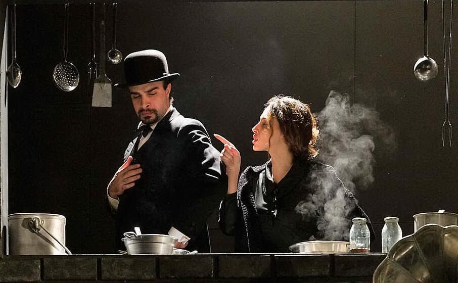 un momento dell opera teatrale (foto ufficio stampa)