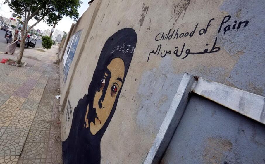una vittima del conflitto in yemen (ansa)