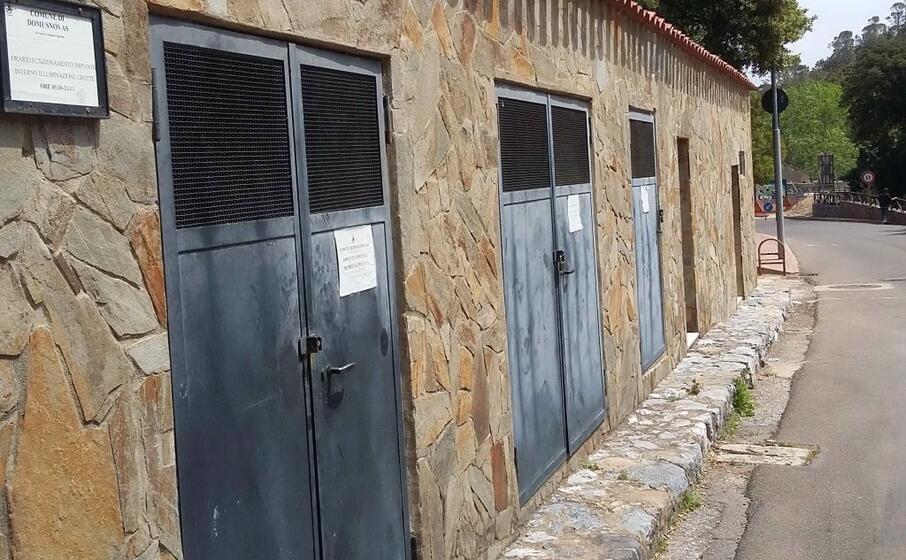 la cabina sorgente de s acqua callenti che approvigiona domusnovas (l unione sarda farris)