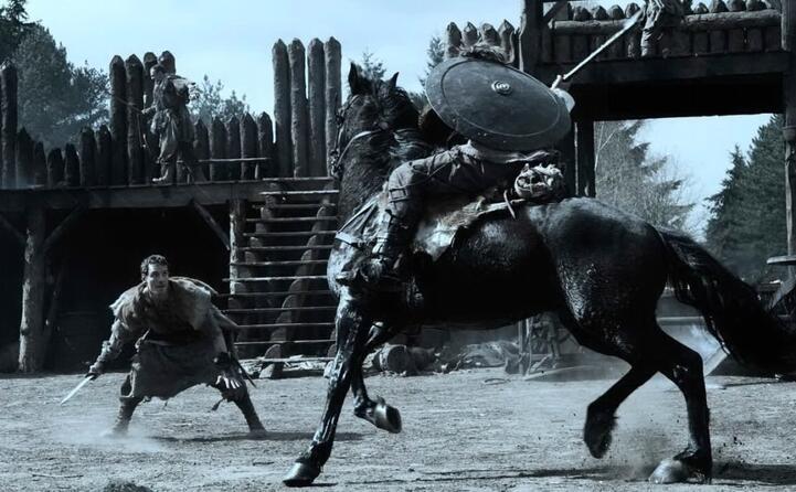 una scena di centurion
