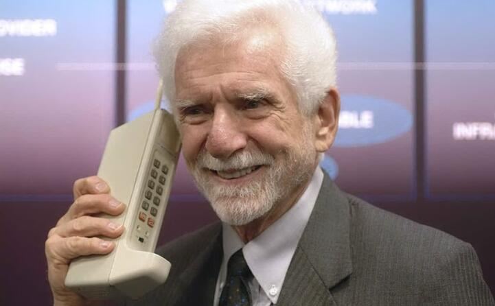 accaddeoggi 3 aprile 1973 la prima chiamata con un telefono cellulare