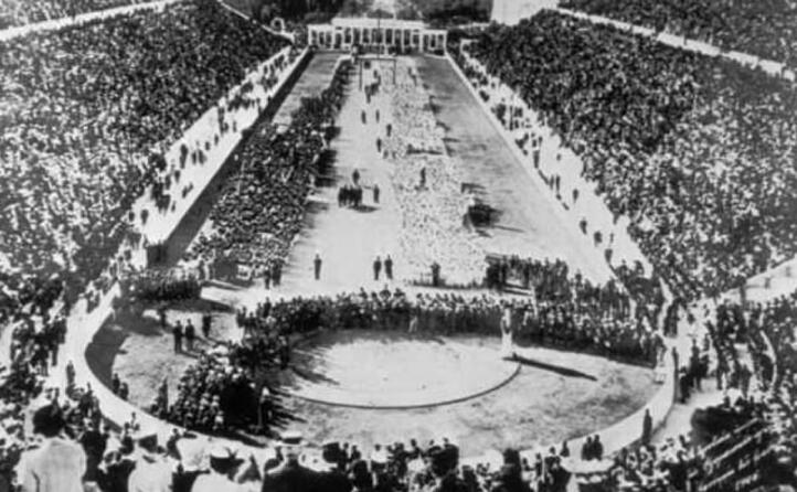 accaddeoggi il 16 aprile 1896 iniziano i giochi olimpici di atene