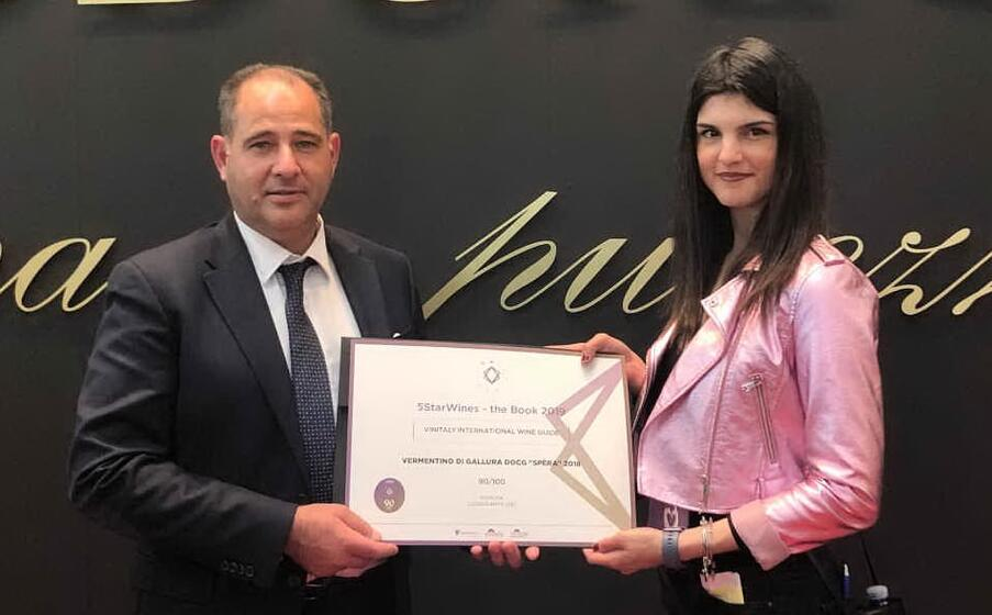 la premiazione (foto ufficio stampa)