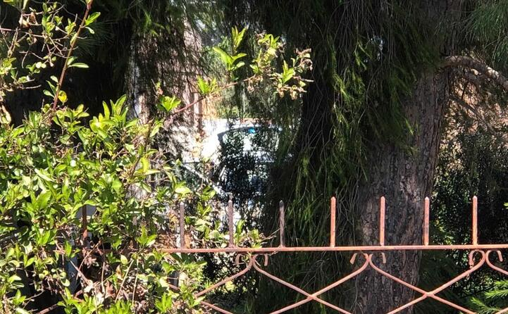 l auto in cui sono stati trovati (tutte le foto sono di antonio serreli)