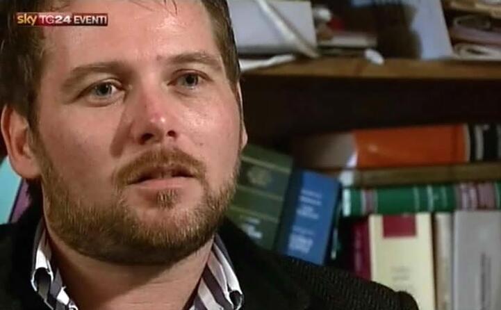 il figlio angelo le sue intervista in tv hanno fatto discutere (ansa)