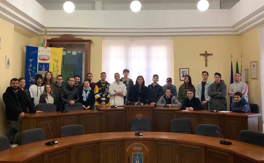 la consulta giovani (foto l unione sarda pinna)