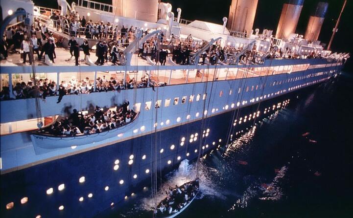 titanic detiene il record di oscar ben undici