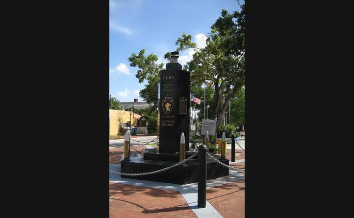 il memoriale del tentativo controrivoluzionario a miami (foto wikipedia)