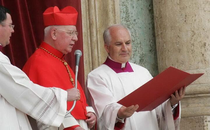 l annuncio del cardinal jorge arturo medina estevez (ansa)