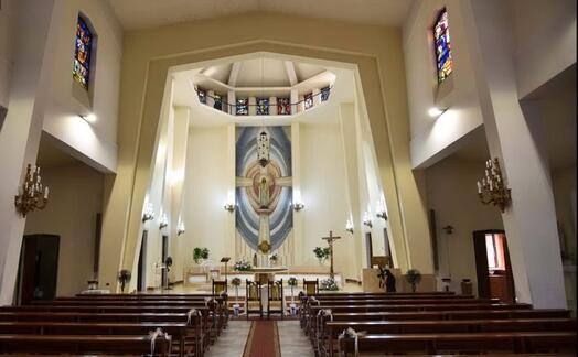 la chiesa del sacro cuore a quartu (foto google maps)