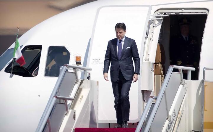 l arrivo del premier