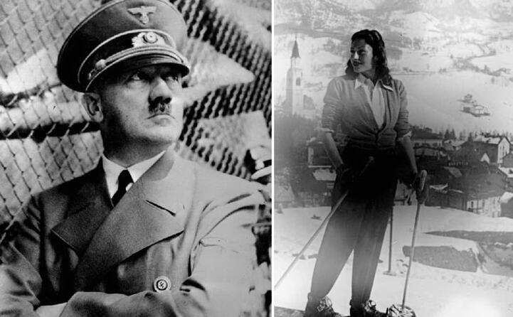 accaddeoggi 30 aprile 1945 il suicidio di adolf hitler (foto archivio l unione sarda) ed eva braun (ansa)