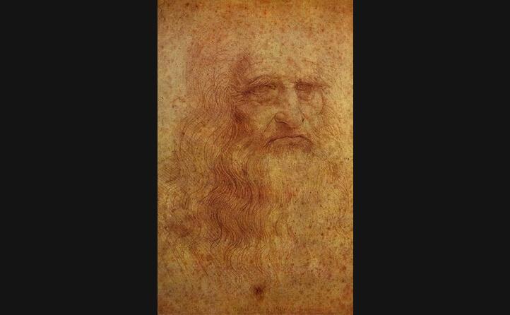 un ritratto di leonardo (archivio l unione sarda)