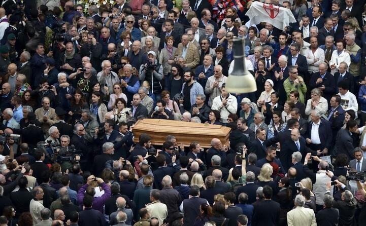 il funerale di andreotti