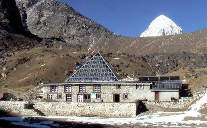 il laboratorio osservatorio internazionale piramide