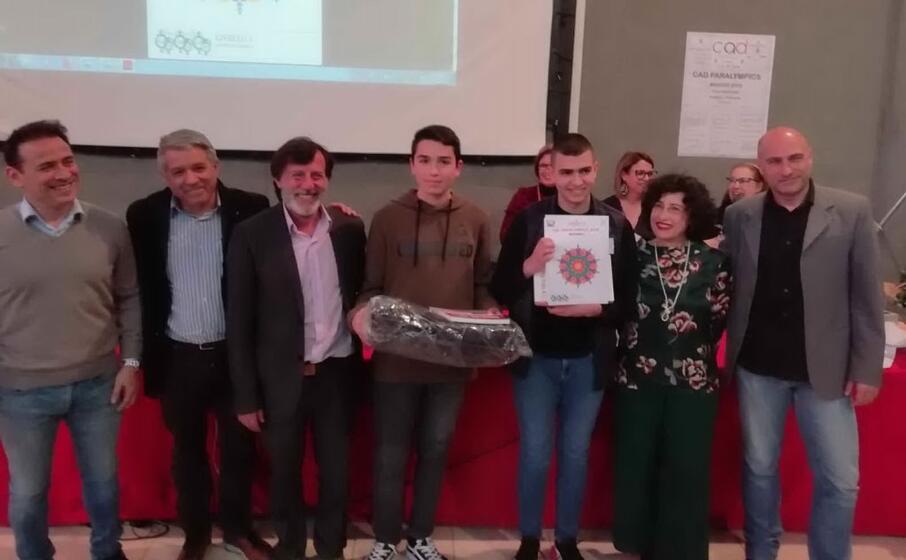 il momento della premiazione (foto l unione sarda garau)