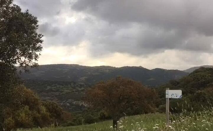 campi e colline in localit baralla luogo del delitto