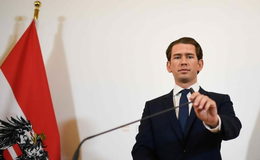 il cancelliere austriaco sebastian kurz (ansa)
