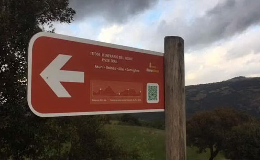 la zona frequentata anche da appassionati di trekking