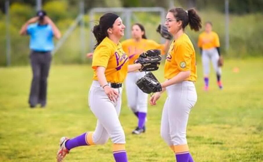 le pink ladies della yellow team sassari (foto claudio atzori)