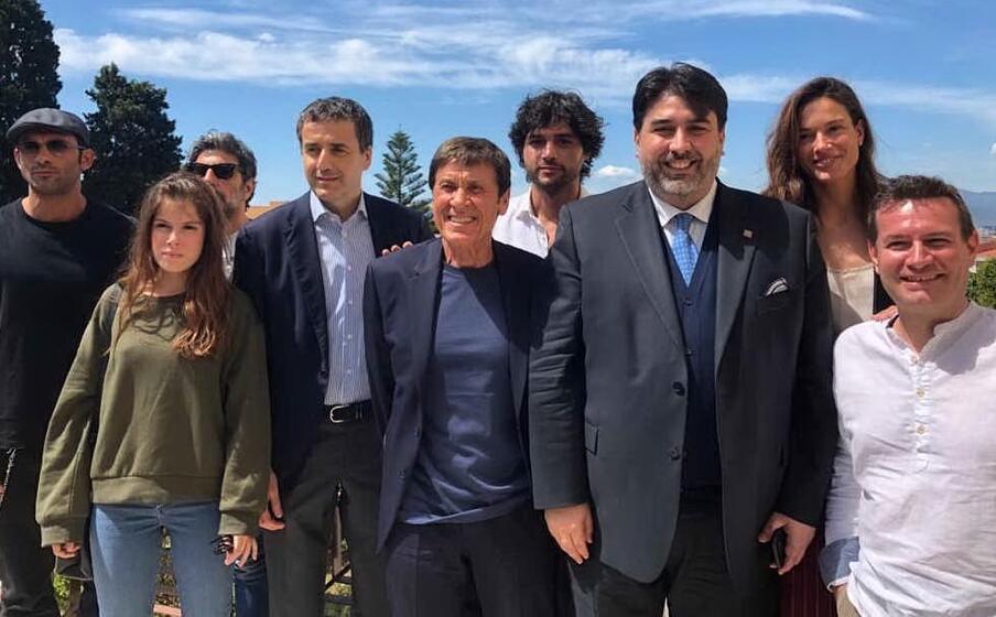 il cast a villa devoto (foto l p )