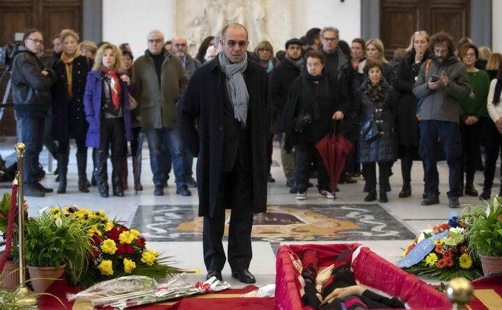 ai funerali di bernardo bertolucci