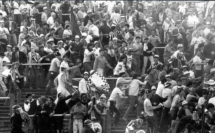 accaddeoggi il 29 maggio del 1985 la tragedia all interno dello stadio di bruxelles (ansa)