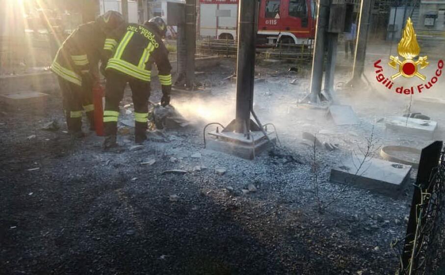 l intervento dei vigili del fuoco (foto 115)