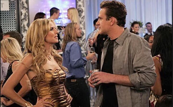 la supermodella ha fatto un cameo in un episodio della serie tv how i met your mother