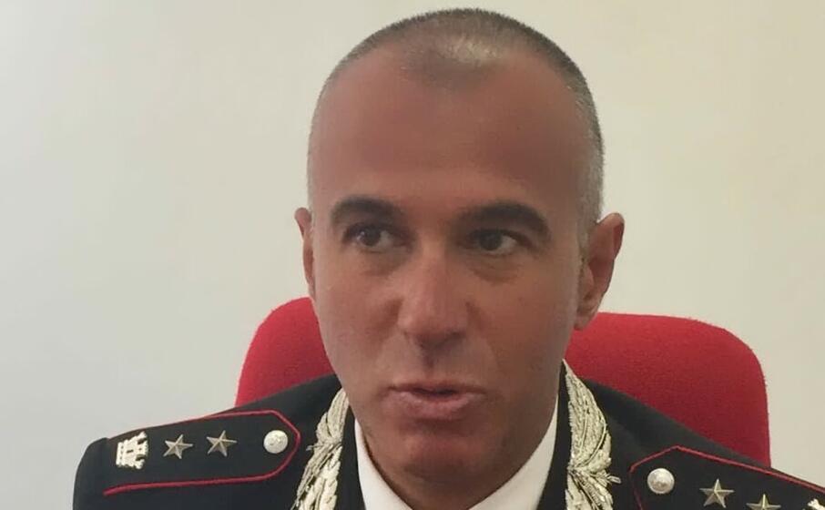 il comandante provinciale di oristano
