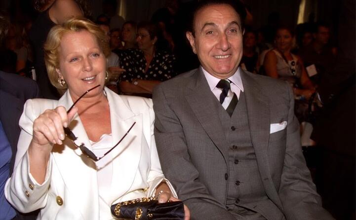 con la moglie il soprano katia ricciarelli