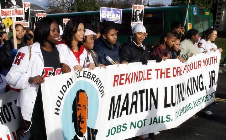 martin luther king era il leader del movimento per i diritti civili degli afroamericani