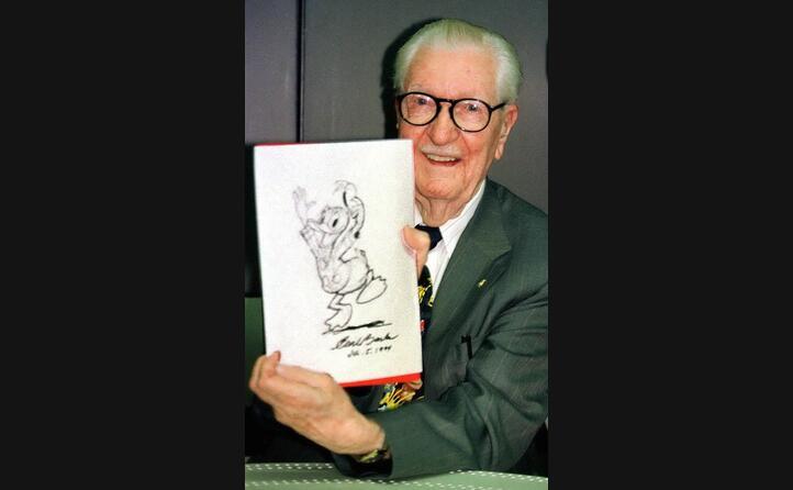 carl barks lo ha disegnato per 40 anni