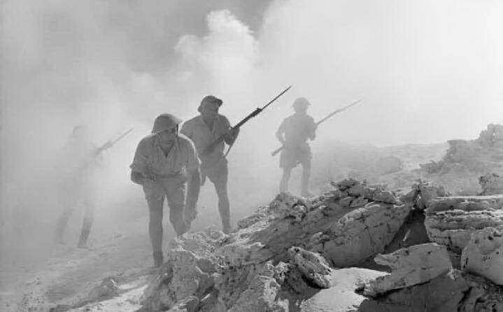 la battaglia di el alamein in nord africa