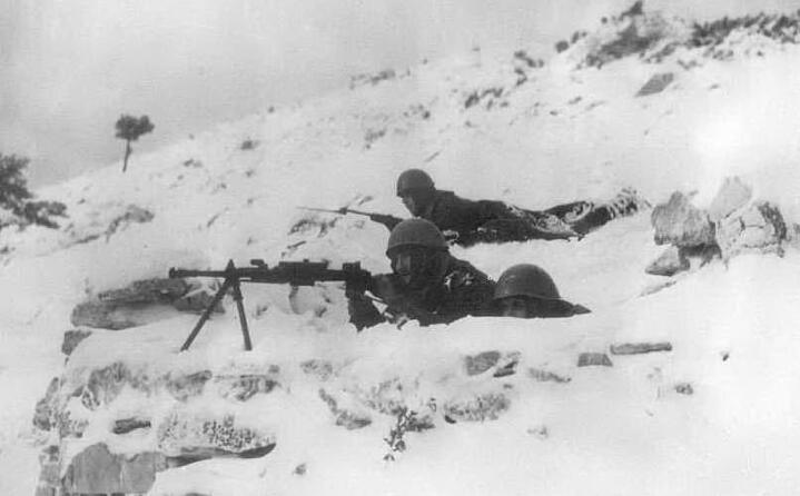 soldati italiani in albania durante l inverno