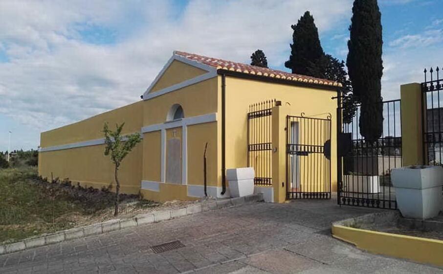 il cimitero comunale (foto l unione sarda sirigu)