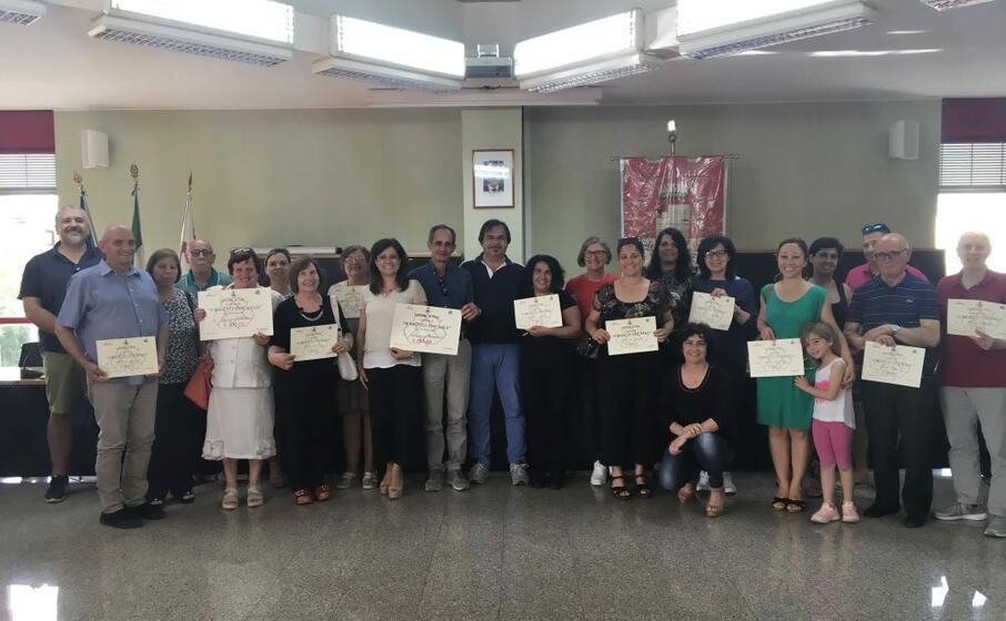 la premiazione (foto l unione sarda murgana)