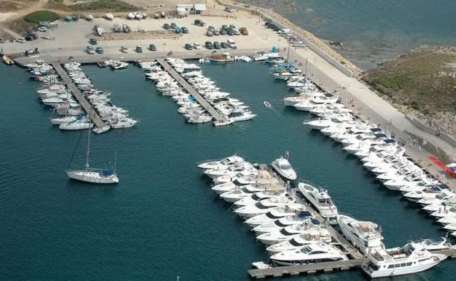 il porto di marina di stintino (foto l unione sarda pala)