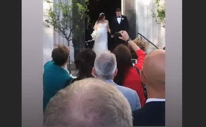 l uscita dalla chiesa (ireneomodeizorini instagram)