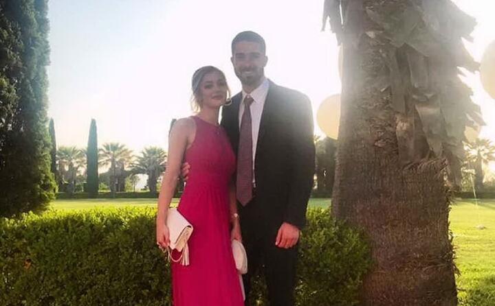 paolo farag con la compagna irene (da instagram)