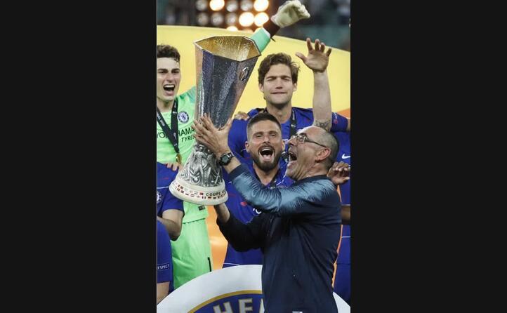 la vittoria dell europa league (ansa)
