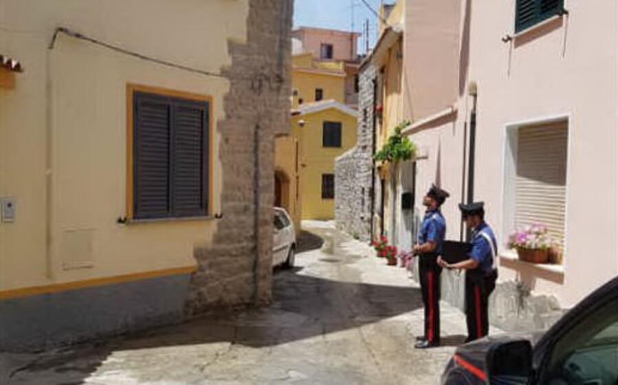 sul luogo della tragedia (foto carabinieri)