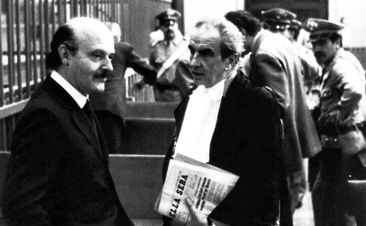 accaddeoggi 18 giugno 1982 roberto calvi trovato morto a londra (nella foto ansa il primo a sinistra)