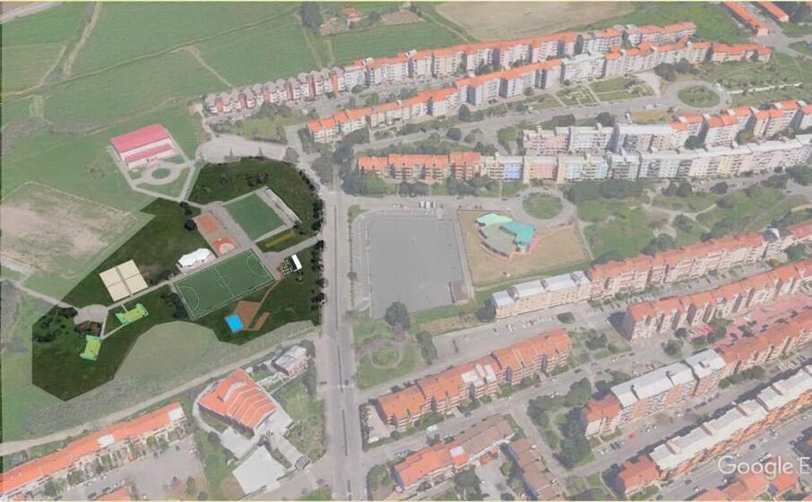 l area di torangius (foto l unione sarda pinna)
