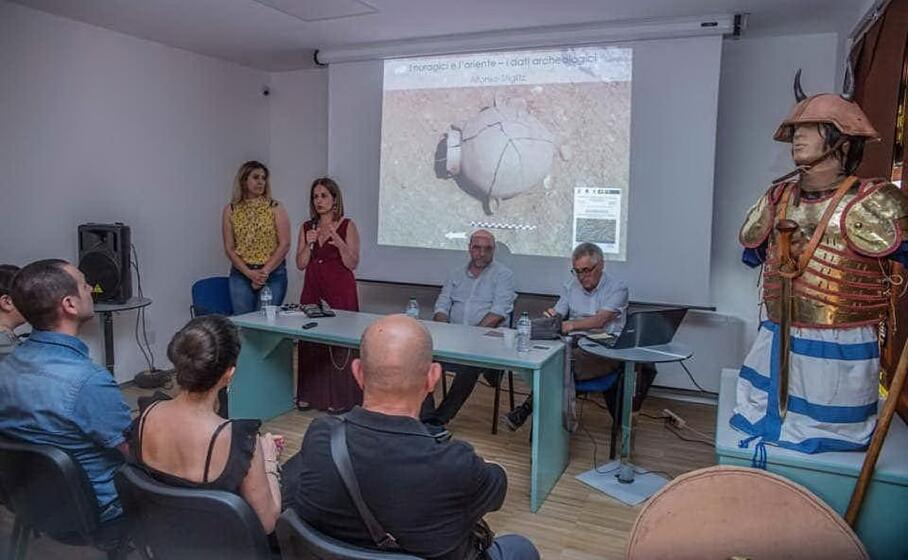 la conferenza (foto l unione sarda sirigu)