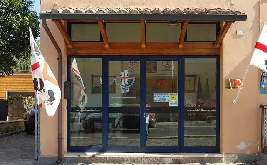 la sede dell associazione (foto inviata dal grazia deledda )