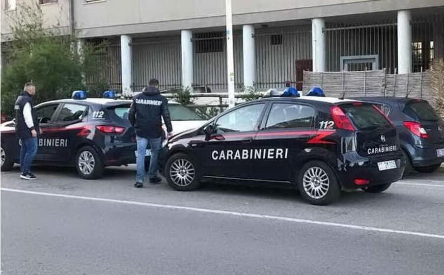 carabinieri a sant elia (archivio l unione sarda)