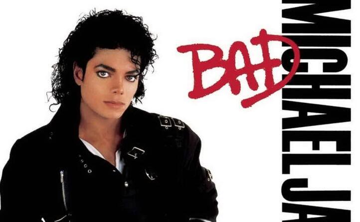 la copertina di bad (foto ansa e wikipedia)