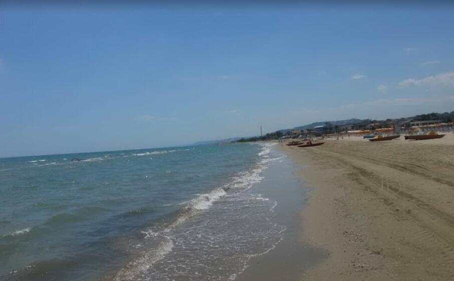 la spiaggia di giulianova (foto google maps)