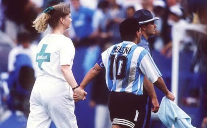 accaddeoggi il 30 giugno 1994 maradona viene trovato positivo all efedrina